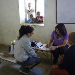 The Health Camp was hosted at schools